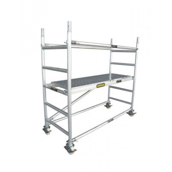 Gorilla Ladders GS-01 Scaffold Core Pack 225kg Rated Aluminium Scaffolding