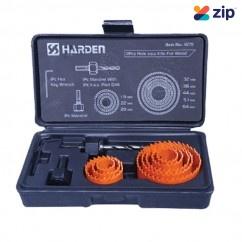 Harden 617111 - 11pcs Hole Saw Kit For Wood Holesaws