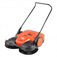 Haaga HG497 - 970mm Dual Brush Manual Push Sweeper
