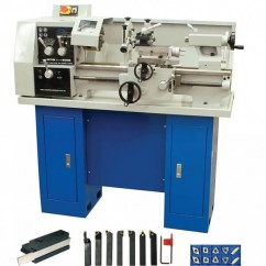 Hafco AL-320G - 320 x 600mm Turning Capacity 38mm Spindle Bore Bench Lathe, Stand & Tooling Package K007A Work Benches & Stands