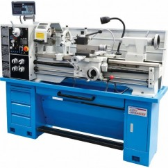 Hafco AL-410 - 52mm Spindle Bore 400 x 1000mm Turning Capacity Centre Lathe L569D Work Benches & Stands
