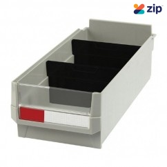 Hafco BK-164 - 164 x 375 x 105mm Plastic Storage Bin S028