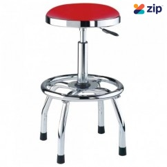 Hafco GSP-795 - Ø360mm Round Padded Seat 675 ~ 795mm Seat Height Pneumatic Stool A359 Mechanics Creepers & Stools