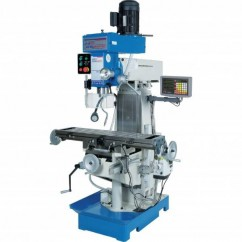 Hafco HM-51B - 240V Table Travel: (X) - 580mm (Y) - 190mm (Z) - 350mm Industrial Turret Milling Machine M577 Oversized