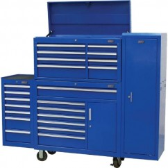 Hafco ICRLC-24D - 1950 x 460 x 1552mm Industrial Series Tool Box Package Deal K005B Tool Chests & Trolleys