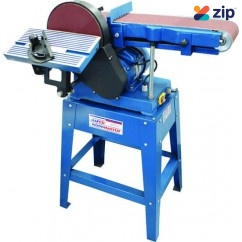 Hafco L-69A - 240V 1hp Belt & Disc Linisher Sander L107 240V Sanders - Disc