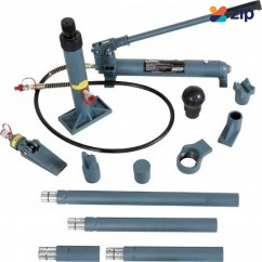 Hafco PBK-10H - 14 Piece Hydraulic 10T Panel Beating Kit A366