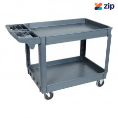 Hafco PSC-2W - 1170 x 652 x 840mm 2 Trays 250kg Plastic Service Cart T749 Hand Trolleys