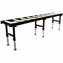 Hafco RC-450HD - Heavy Duty Roller Conveyor with Adjustable Stands L830