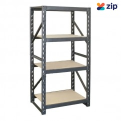 Hafco RST-4D- Flexi-Rack Wood Shelving with 364kg Shelf Load Capacity S0135 Lifting Equipment
