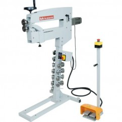 Hafco MBR-610 - 1.2mm Thickness 610mm Depth 240V 0.33hp Motorised Variable Speed Bead Roller S633 Sheet Metal Tools