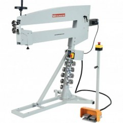 Hafco MBR-1070 - 1.2mm Thickness 1070mm Depth 240V 0.33hp Motorised Variable Speed Bead Roller S634 Sheet Metal Tools