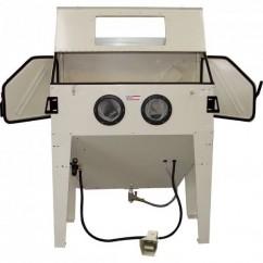 Hafco SB-420 - 680 LPM 1200x600x340-570mm Industrial Sandblasting Cabinet S302 Machinery
