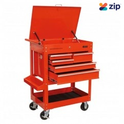 Hafco SDC-5D - 5 Drawers 320kg Capacity Deluxe Steel Service Cart T756 Tool Trolleys