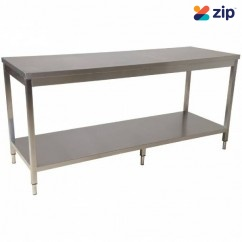 Hafco SSB-20 - 2000mm x 700mm x 900mm 700kg Total Load Capacity Stainless Steel Island Work Bench F280