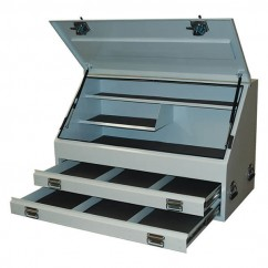 Hafco TB-HD120/2 - 1210 x 640 x 750mm Industrial Truck Tool Box T7442  Workshop Tool Boxes & Trolleys