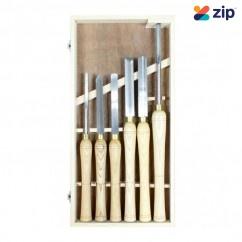 Hafco WT-6 - 6 Piece HSS Wood Turning Tools Set W302 Multitools
