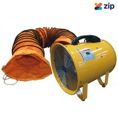 Kool AF-30SET-CL - 240V 300mm Ventlator Fan with 5M Air Duct Hose Floor Fans & Ventilators