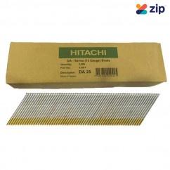 Hitachi DA25EPB - 25mm DA-Series 15 Gauge Bright Finish Nails Pack of 3000  Hitachi Accessories
