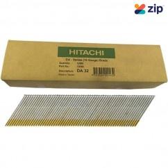 Hitachi DA32EPB - 32mm DA-Series 15 Gauge Bright Finish Nails Pack of 3000  Hitachi Accessories