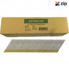 Hitachi DA64EPB - 64mm DA-Series 15 Gauge Bright Finish Nails Pack of 3000  Hitachi Accessories