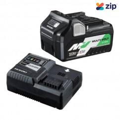 HiKOKI 36VSTARTERPACK1Z - 18V - 36V 5.0Ah - 2.5Ah MultiVolt Battery Rapid Charger Starter Pack