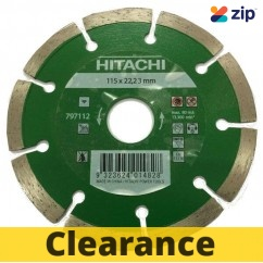 Hitachi 797112 - 115mm Diamond Segmented Blade Hitachi Accessories