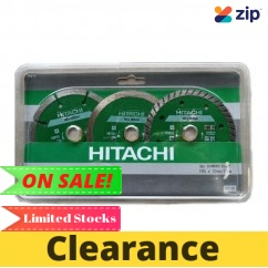 Hitachi 797130 - 105mm 3 Piece Diamond Wheel Blade Diamond Blades