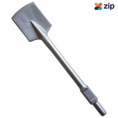 Hitachi 401922 - 30mm HEX Flat Clay Spade For Jack Hammers Demolition Jack Hammers