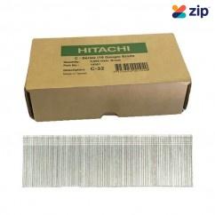 Hitachi C32 - 32mm C-Series 16 Gauge Electro Galvanised Finish Nails Pack of 5000 Hitachi Accessories