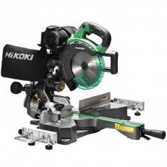 HiKOKI C3607DRA(H4Z) - 36V 185mm Cordless Brushless Slide Compound Mitre Saw Skin