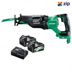HiKOKI CR36DA(HGZ) - 36V MultiVolt Cordless Brushless Reciprocating Saw Kit Reciprocating Saws