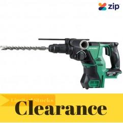 HiKOKI DH36DPC(H4Z) - 36V MultiVolt Cordless Brushless SDS-Plus Rotary Hammer Skin