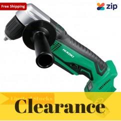 HiKOKI DN18DSL(H4Z) 18V Slide Keyless CordlessAngle Drill Skin Angle Drills
