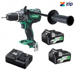HiKOKI DV36DA(HRZ) - 36V MultiVolt 13mm Cordless Brushless Keyless Chuck Impact Hammer Drill Kit Hammer Drills