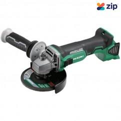 HiKOKI G18DBL(H5Z) - 18V 125mm Cordless Brushless Angle Grinder with Slide Switch Skin Angle Grinders