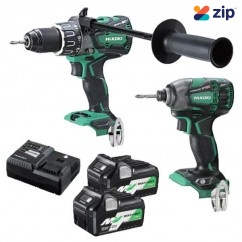 HiKOKI KC36DBDL(HRZ) - 18V/36V MultiVolt Cordless Brushless 2 Piece Combo Kit
