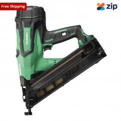 HiKOKI NT1865DBAL(H4Z) - 18V 65mm DA Cordless Brushless Finish Nailer Skin Nailers & Staplers