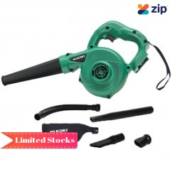 HiKOKI RB18DSL(DS4Z) - 18V Cordless Slide Blower & Vacuum Skin with Accessory Pack Blowers
