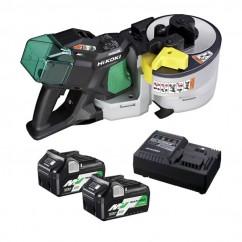HiKOKI VB3616DA(HGZ) - 36V 2.5Ah Cordless Brushless Portable Multi-Volt Rebar Cutter/Bender Kit Rebar Cutters