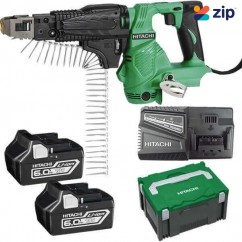 Hitachi WF18DSL(HX) - 18V 6.0AH Cordless Slide Automatic Screw Driver Kit Cordless Screw Guns