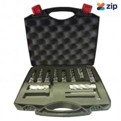 Holemaker ASSET-D - 10PC Silver Series Metric Short & Long Annular Cutter Set Magnetic Drill Broach Cutters