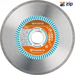 "Husqvarna 4.5CONTRIM - 115(4"")mm S4 Tacti-cut Diamond Blades579819630 Cutting & Grinding Discs"