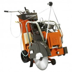 "Husqvarna FS 524 - 15.5KW Petrol Floor Saw with 1 x  24"" 400 Series Husqvarna's Genuine Blades  Machinery & Power Tools"