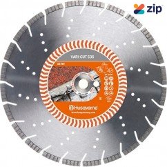 "Husqvarna 14VARICUT - S35 350(14"")mm Vari-Cut Turbo Diamond Blade 587905801 Husqvarna Accessories"