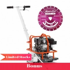 Husqvarna X150 - 3.2 kW 152mm Soff-Cut Petrol Saw