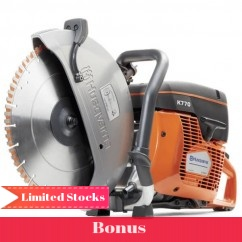 "Husqvarna K770 - 14"" 350mm Power Cutter Demolition Saw Cutting"