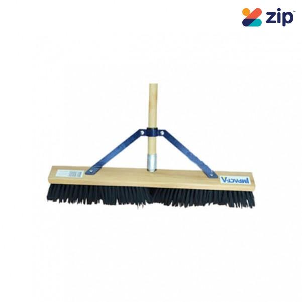 """IMPACTA 12457 - 24"""" 600MM Hard Fibre Broom Concrete Hand Tools"""