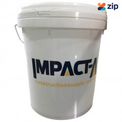 IMPACTA 29019 - 5L White Plastic Bucket With Lid