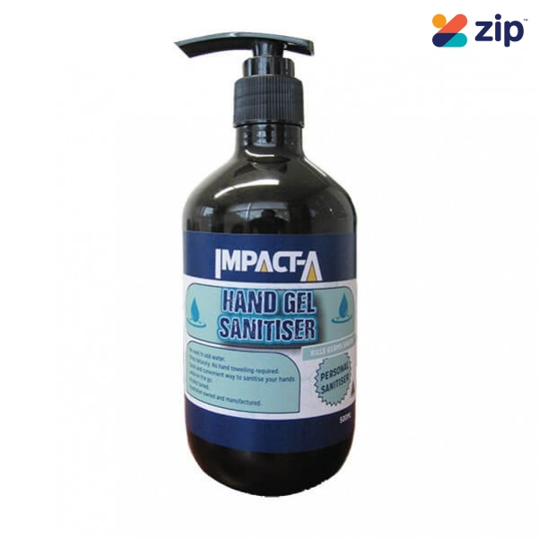 IMPACT-A 29122 - 500ML Alcohol-Based Hand Gel Sanitiser Cleaning Products